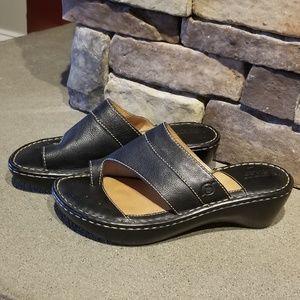 Born Concepts Black Sandals Size 6